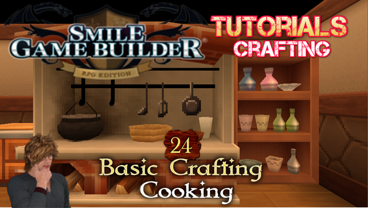SGB Tutorial #24 - Basic Crafting System - Cooking