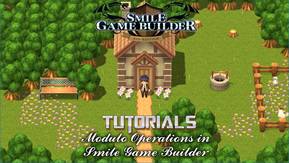 Modulo Operations in Smile Game Builder