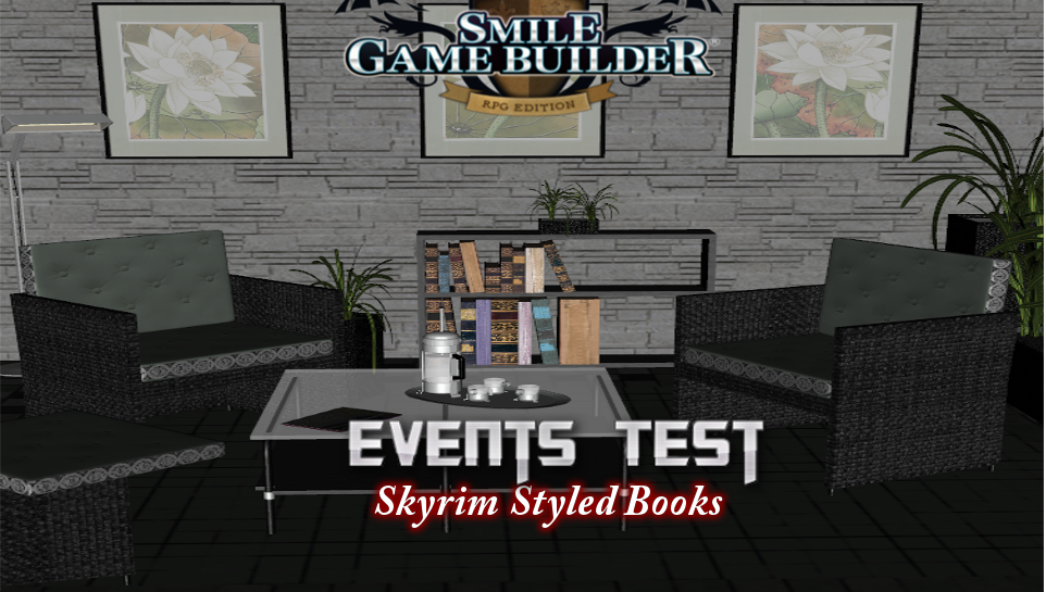 Skyrim Styled Books - Events Test