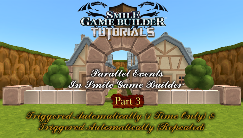 Parallel Events In Smile Game Builder - Part 3