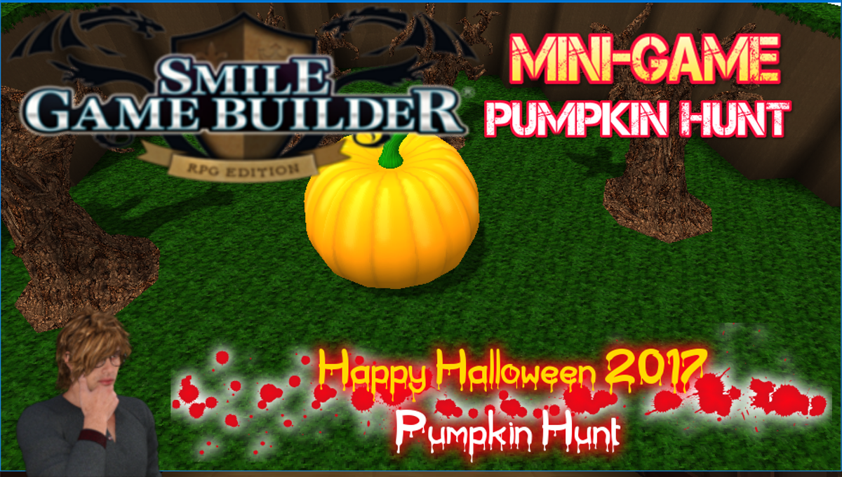 Halloween 2017 Smile Game Builder Mini-Game: Pumpkin Hunt