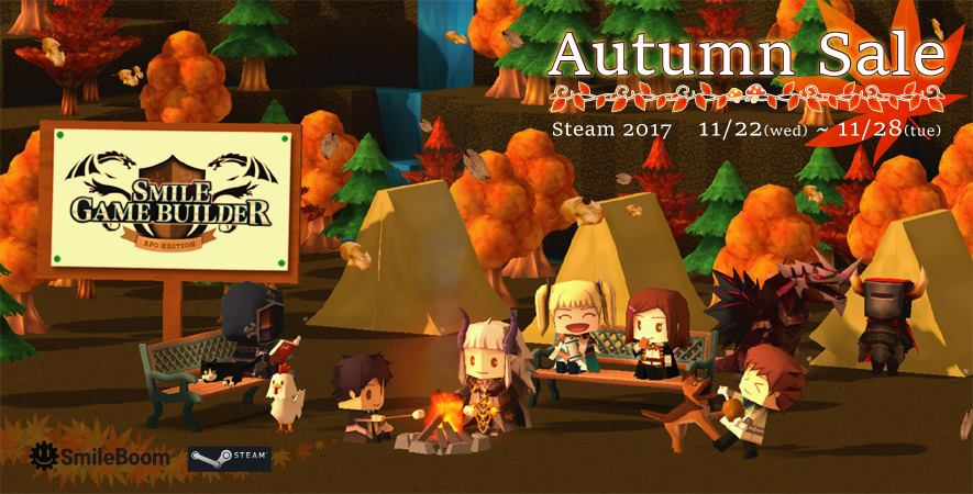 Smile Game Builder Autumn DLC Sale 2017
