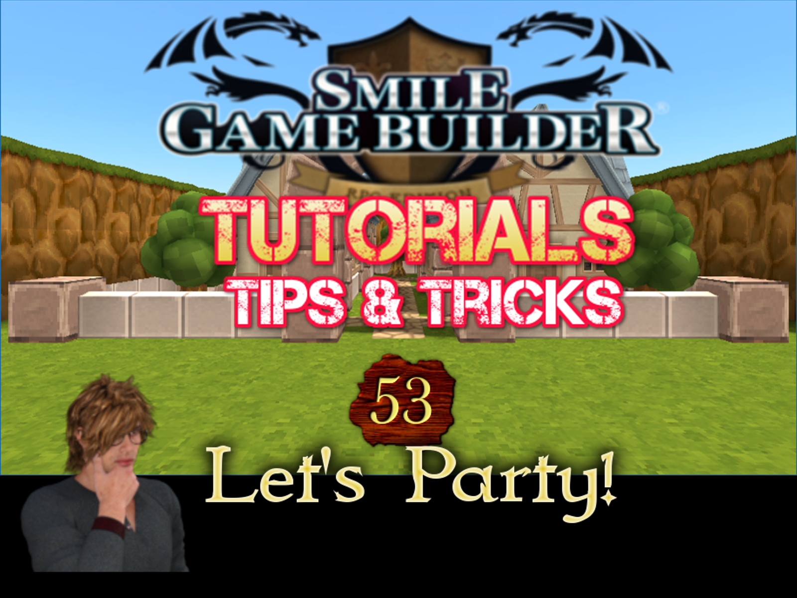 Smile Game Builder Tutorial 53 - Let's Party