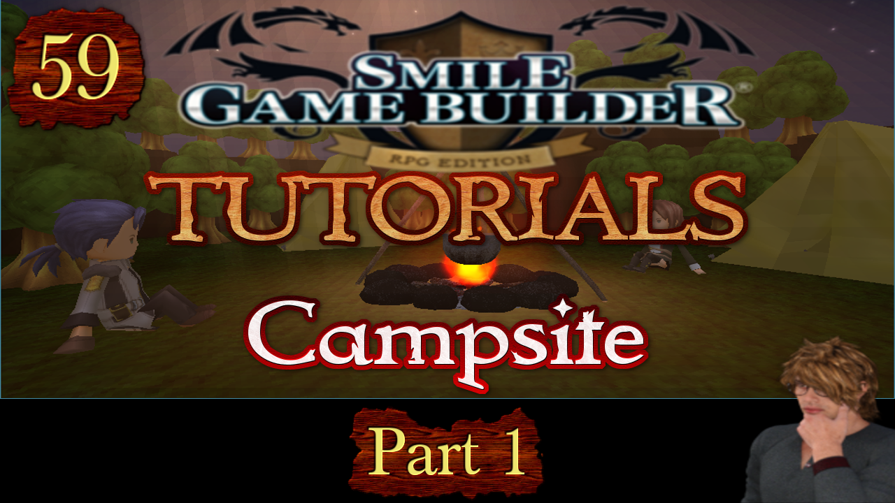 Smile Game Builder Tutorial #59: Campsites (Part 1)