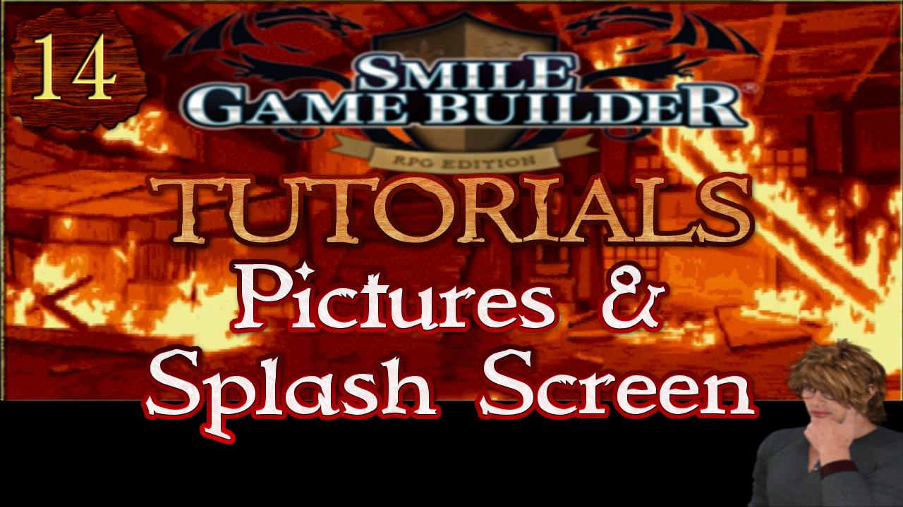 Smile Game Builder Tutorial 014: Pictures & Splash Screen