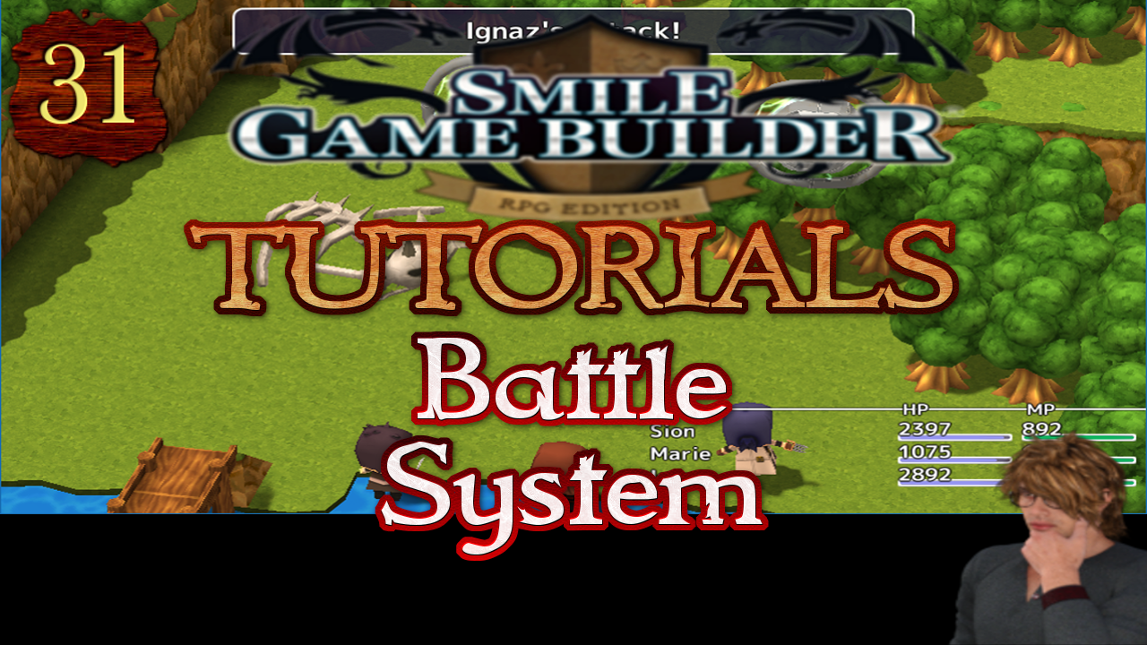 Smile Game Builder Tutorial 031: Battle System